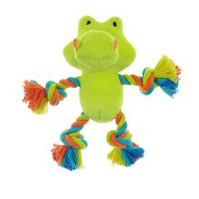 Chomper Mini Safari Tug Me Dog Toy - Gator