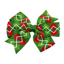 Christmas Argyle Pet Bow