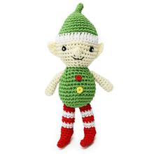 Christmas Elf Crochet Dog Toy by Dogo