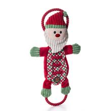 Christmas Ropes-A-Go-Go Santa Dog Toy