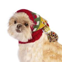 Merry Christmas Alpaca Dog Hat by Alqo Wasi - Red