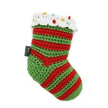 Christmas Stocking Crochet Dog Toy by Dogo