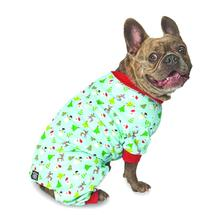 Christmas Trees Dog Pajamas - Green