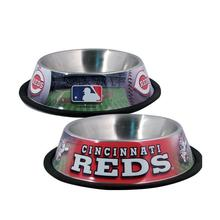 Cincinnati Reds Dog Bowl