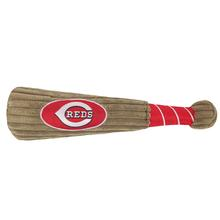 Cincinnati Reds Plush Baseball Bat Dog Toy