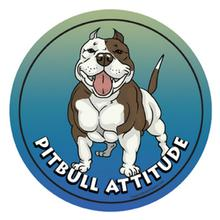 Circle Attitude Magnet Collection - Pitbull