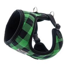 Cirque Dog Harness - Green Buffalo Plaid