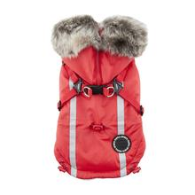 Clark Fleece Dog Vest by Puppia - Red