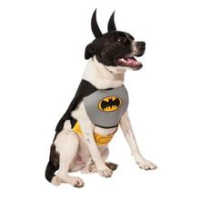 Classic Batman Dog Halloween Costume - Gray