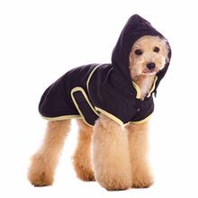 Classic Trench Dog Coat by Dogo - Black