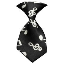Classical Music Dog Neck Tie