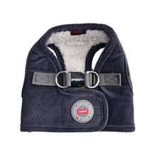 Classy Vest Style Dog Harness By Puppia - Grey