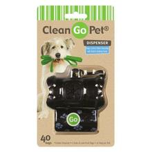 Clean Go Pet Bone Waste Bag Holders - Black