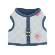 Clement Pinka Dog Harness by Pinkaholic - Light Blue