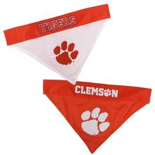 Clemson Tigers Reversible Dog Bandana Collar Slider