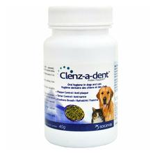 Clenz-a-dent Plaqueoff Dental Food Additive for Dogs and Cats