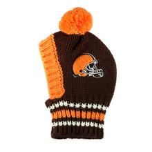 Cleveland Browns Knit Dog Hat