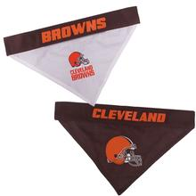 Cleveland Browns Reversible Dog Bandana Collar Slider