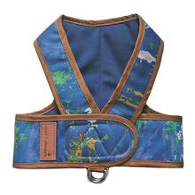 Cloak & Dawggie Classic Step N Go Harness - Denim Splash