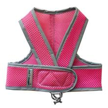 Cloak & Dawggie Classic Mesh Step N Go Dog Harness - Pink