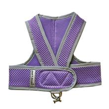 Cloak & Dawggie Classic Mesh Step N Go Dog Harness - Purple