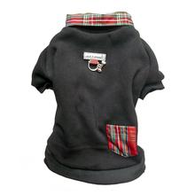 Cloak & Dawggie Holiday Tartan Trim Dog Sweatshirt