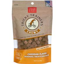 Cloud Star Crunchy Tricky Trainers Dog Treats - Cheddar Flavor