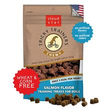 Cloud Star Crunchy Tricky Trainers Dog Treats - Salmon Flavor