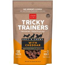 Cloud Star Soft & Chewy Tricky Trainers Dog Treats - Cheddar Flavor