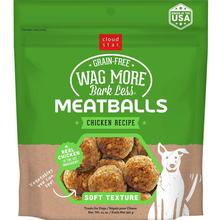 Cloud Star Wag More Bark Less Grain-Free Meatballs - Chicken Recipe