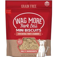 Cloud Star Wag More Bark Less Grain-Free Oven-Baked Mini Dog Biscuits - Turkey & Cranberry