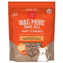 Cloud Star Wag More Bark Less Grain-Free Soft & Chewy Treats - Peanut Butter & Apples