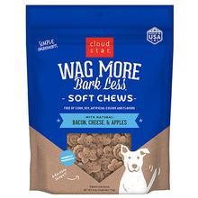 Cloud Star Wag More Bark Less Soft & Chewy Treats - Bacon, Cheese & Apples