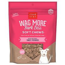 Cloud Star Wag More Bark Less Soft & Chewy Treats - Sweet Potato