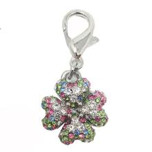 Clover D-Ring Pet Collar Charm by foufou Dog - Multi-Colored