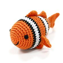 Clown Fish Crochet Dog Toy by Dogo