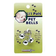 Coastal Pet Bells Collar Attachment - Silver