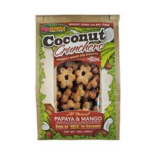 Coconut Crunchers Dog Treat - Papaya & Mango