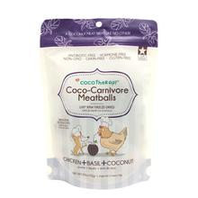CocoTherapy Coco-Carnivore Meatballs Pet Treats - Chicken
