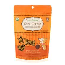 CocoTherapy Coco-Charms Organic Training Dog Treats - Coconut Pumpkin Pie