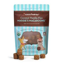 CocoTherapy Maggie's Macaroons Pet Treat - Coconut Vanilla Flax