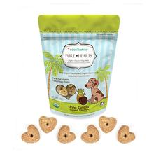 CocoTherapy Pure Hearts Organic Dog Treats - Pina Colada
