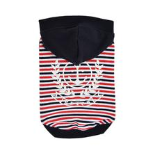 Skipper Hooded Dog Shirt By Puppia - Navy