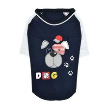 Sniffer Dog Shirt By Puppia - Navy