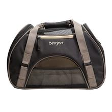 Comfort Pet Carrier - Black and Beige