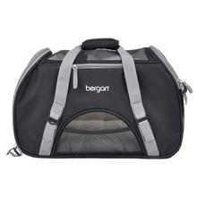 Bergan Comfort Pet Carrier - Black and Grey