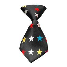 Confetti Stars Dog Neck Tie