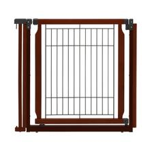 Convertible Elite Door Panel for Convertible Elite Dog Gate - Cherry Brown