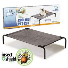 Cool Pup with Insect Shield Cooling Dog Cot