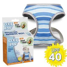 Cool Pup with Insect Shield Dog Harness - Striped Reflective